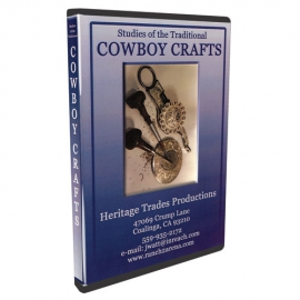 DVD Cowboy Crafts, Western-Style Engraving