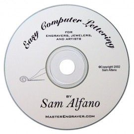 Easy Computer Lettering CD