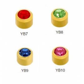 Farebný mix mini pozlátené