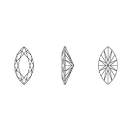Zirconia špic biela