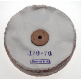 Leštiaci kotúč plátený 120x70 mm