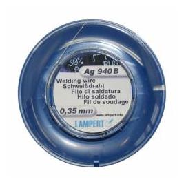Zvárací drôt, Ag, 100 cm, pr.0,35 mm, Ag940B